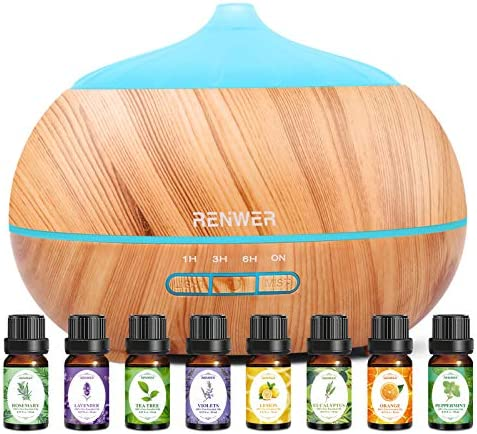 Essential Oil Diffuser 500ml Diffusers for Essential Oils with Essential Oil Set Ultrasonic product image