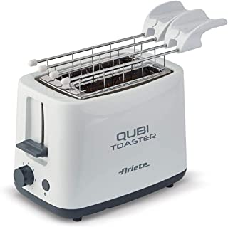 Ariete Toaster 157, Two Slices, White