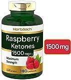 Raspberry Ketones | 1500mg | 180 Capsules | Non-GMO & Gluten Free Pills | by Horbaach