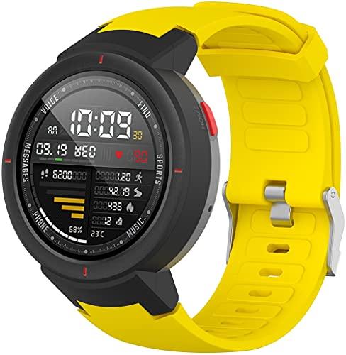Classicase Correa de Reloj Reemplazo Compatible con Amazfit Verge/Verge Lite, la Correa de Reloj Watch Band Accessorios (Pattern 9)