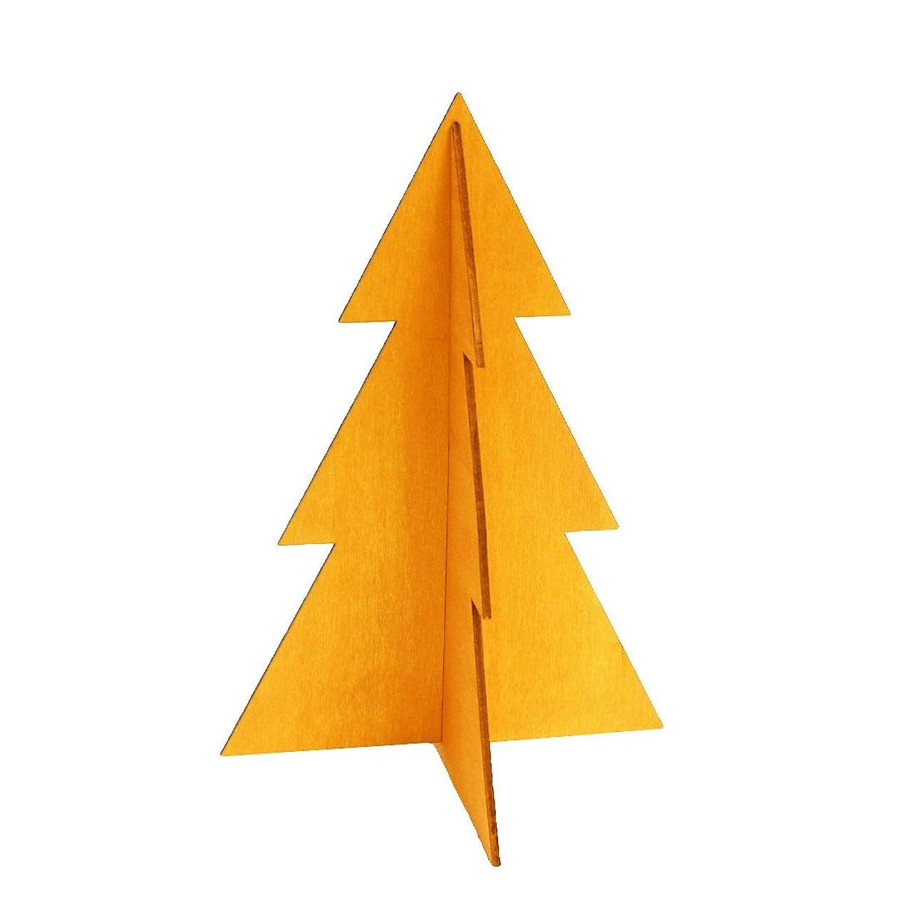 対象固めるに渡ってフェスティブツリーM 「 オレンジ 」