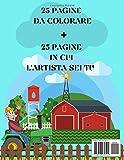 Zoom IMG-1 libro da colorare trattori album