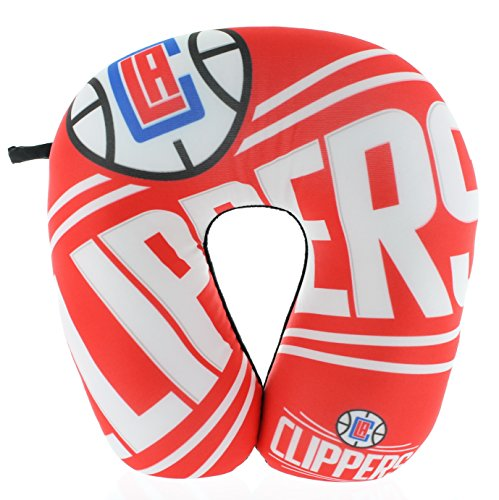 NBA Los Angeles Clippers Impact Neck Pillow, Red