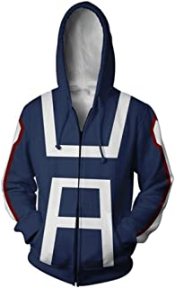 Qi Pao My Hero Deku Hoodie Training Suit Cosplay Sweatshirt Costume for Men and Women