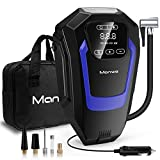 Manwe Digital Tyre Inflator Touch Screen Tire Inflator, Portable Air Compressor Pump, DC