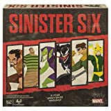 Marvel Sinister Six, Spider-Man Villains Heist Card Game for Teens and Adults