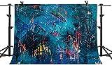 Fondo de Pintura de Graffiti Abstracto de 7X5FT telón deFondo deFoto de Vinilo Colorido Arte Pintura al óleo telón de Fondo para fotografía Retrato fotografía artística bebé niños niños telón