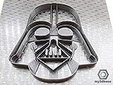 Kekstempel/Ausstechform STAR WARS aus biolog. PLA ca.8cm (Darth Vader)