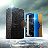 【Amazon.co.jp限定】Film Collections Box FINAL FANTASY XV PlayStation®4 「FINAL FANTASY XV」ゲームディスク付き(初回生産特典 武器「正宗/FINAL FANTASY XVオリジナルモデル」アイテムコード同梱&「ゲイボルグ/FINAL FANTASY XIVモデル」特典セット付、メーカー特典:「ポートレート」「ドラマCD」付)(数量限定生産版) [Blu-ray]
