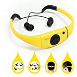 Tayogo 2014 Upgraded Waterproof Mp3 Headset Music Player, 8gb Memory Hi-fi Stero, Earphone