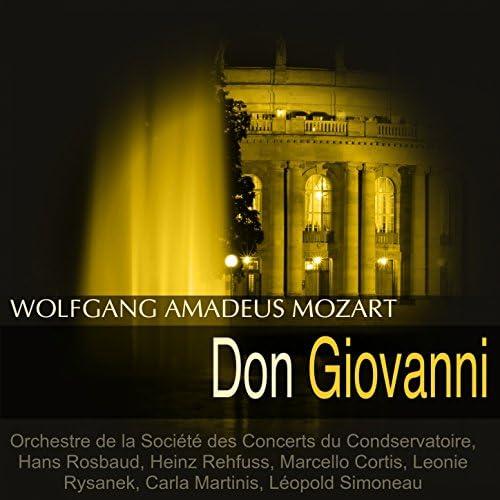 Orchestre de la Société des Concerts du Condservatoire, Hans Rosbaud, Heinz Rehfuss, Carla Martinis