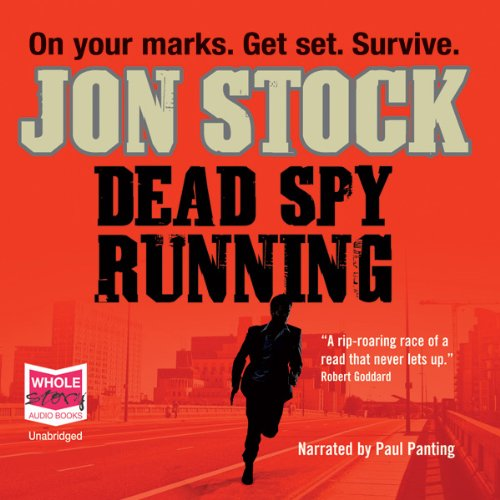 Dead Spy Running audiobook cover art