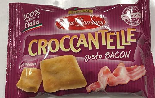 Croccantelle Forno Damiani GUSTI VARI - 1 CONFEZIONE DA 25 Buste (BACON)