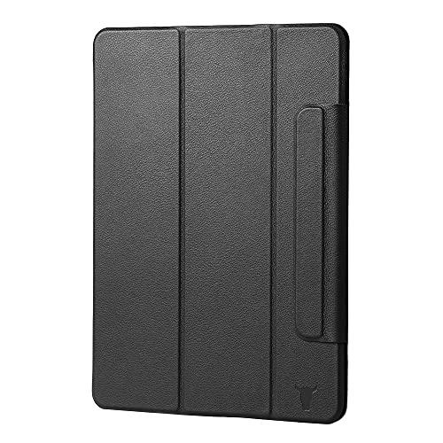 """TORRO Magnetische Hülle Kompatibel mit Apple iPad Pro 11"""" - Hochwertiges Lederhülle mit [Mehrere Betrachtungswinkel] [Wake/Sleep aktiviert] 1. 2. & 3. Gen (Schwarz)"""