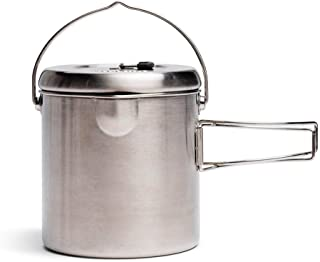 Solo Stove Pot 1800: Stainless Steel Companion Pot Titan. Great for Backpacking, Camping, Survival