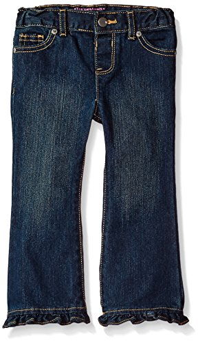 The Children's Place Baby Girls' Flare Jeans, Sapphire Wash 26562, 12-18 Months