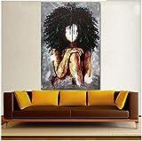 Surfilter Stampa su Tela Pittura Arte murale Africana Dipinti...