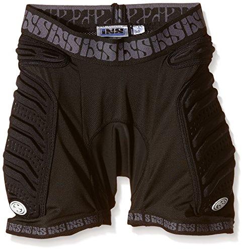 iXS Sports Division Skid Evo-I - Pantaloncini con Protezioni da Donna, Nero (Nero), 38
