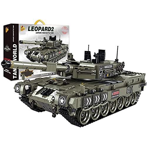 FYHCY Technik Panzer Bloques de construcción, Tanque de...