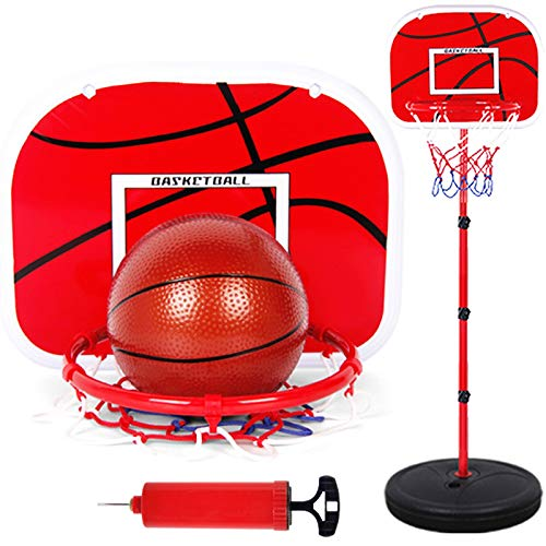 Fantastic Prices! LTra5jCCun 2-5ft In-Ground Basketball Portable Removeable Basketball Hoop Outdoor/...