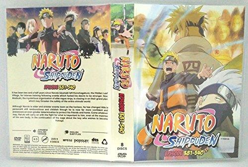 381-540 EPISODES NARUTO SHIPPUDEN - Komplette ANIME TV Serie DVD Box Set