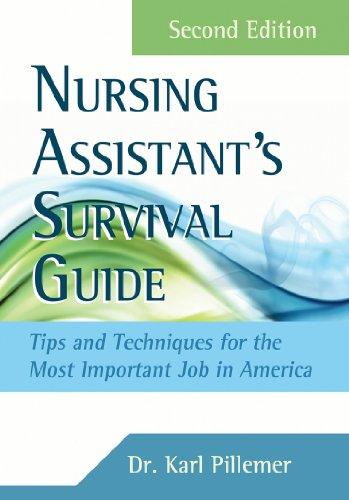 51awS1my5cL - Nursing Assistant's Survival Guide