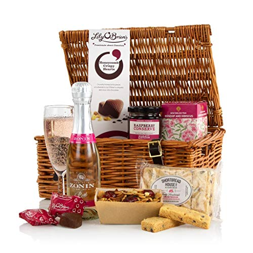 Mothers Day Hamper Gift With Prosecco