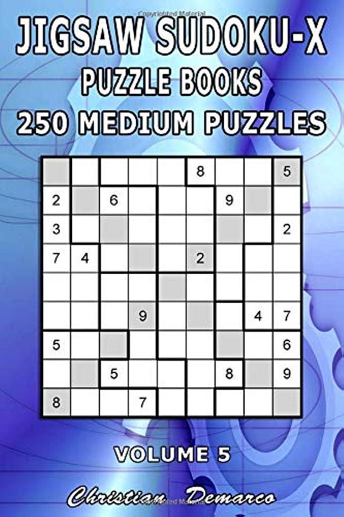 パイプラインフライカイトセンブランスJigsaw Sudoku-X Puzzle Books - 250 Medium Puzzles Volume 5: Handy 6 x 9 inch Book Layout - Ideal for Beginners (Jigsaw Sudoku x Puzzle Books - 250 Medium Puzzles)