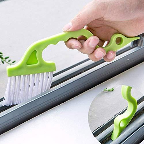 RUONIA Handheld Groove Gap Reinigingsgereedschap Deur Raamspoor Reinigingsborstels Airconditioning Shutter Reinigingsborstels