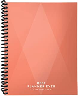 $21 » Best Planner Ever 90 Day Undated Daily Planner – Designed by Business Coach Jennifer Dawn to Improve Daily Productivity, Organization & Happiness, for Goal Driven Performers Seeking Work Life Balance