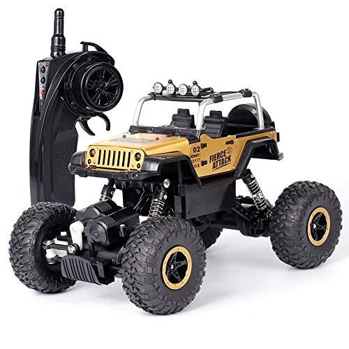 Pinjeer 2.4G 1:18 RC Car De Alta Velocidad Eléctrica Hummer Rock Crawlers...