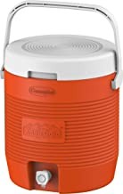 Cosmoplast-MFKCXX012OR Keep Cold Plastic Insulated Water Cooler, Small, 12 Litres - Orange