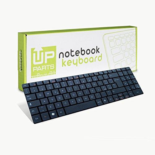 UPTOWN Up Parts® up-kbp004–Tastatur Packard Bell EasyNote TJ61TJ62TJ65TJ66TJ67TJ71TJ73TJ75–Layout Italienisch–Original, Leader Italienisch der Ersatzteile Ersatzteil.