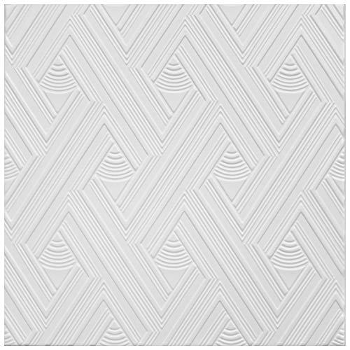 20 qm | Deckenplatten | XPS | formfest | Hexim | 50x50cm | Nr.109