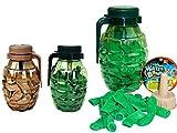 Water Balloons Grenade (2 Pack) By JA-RU. 75 Bombs Each and Hose Filler. | Item 182-2
