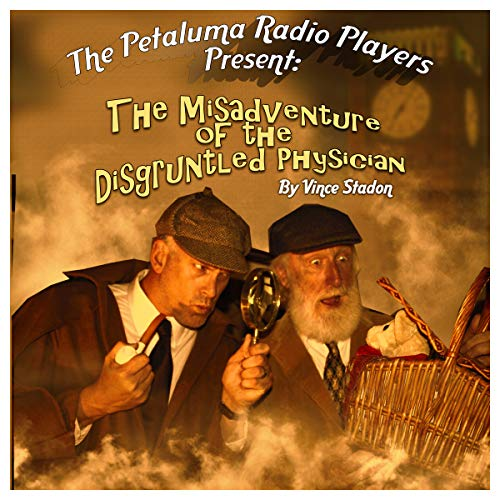 The Misadventure of the Disgruntled Physician audiobook cover art