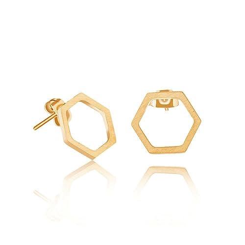 6462930032 Hexagon Earrings: Amazon.com
