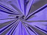 100% Seide Taft Stoff lila Tinte Farbe 111,8cm