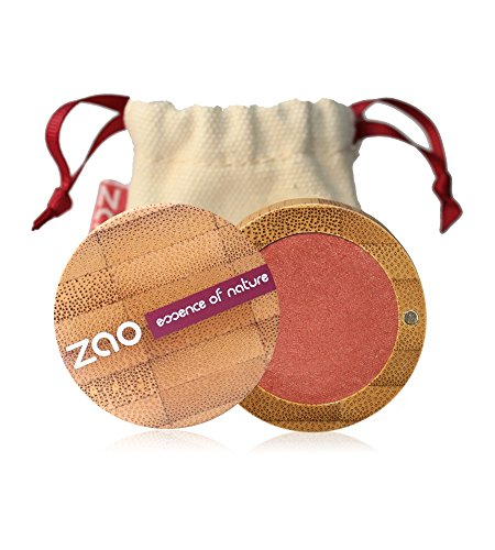ZAO Pearly Eyeshadow 119 rosa-koralle-gold Lidschatten schimmernd in nachfüllbarer Bambus-Dose...