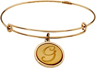 Alex And Ani Initial G Expandable Gold One Size Bracelet PC13B129GG