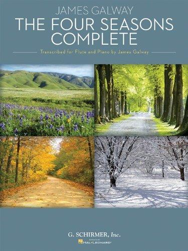 Antonio Vivaldi: The Four Seasons Complete (James Galway) - Flute. Für Querflöte, Klavierbegleitung