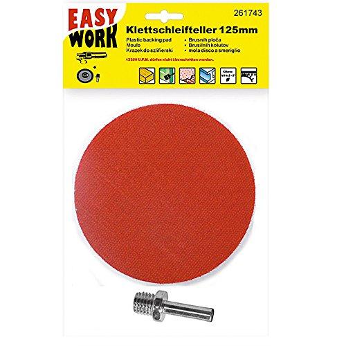 Easy Work 261743 schuurschijf met klittenband Ø 125 m