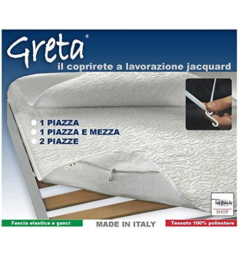 tex family Nuovo COPRIRETE in Feltro Greta - 2 PIAZZE