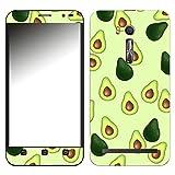 Disagu SF-107220_1122 Design Folie für Asus ZenFone Go TV (ZB551KL) - Motiv Avocados Muster grün