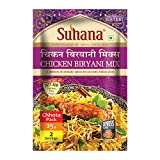 Suhana Chicken Biryani 25g Pouch | Easy to Cook | Spice Mix - Pack of 6