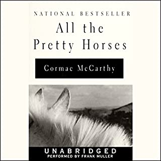 All the Pretty Horses audiobook cover art