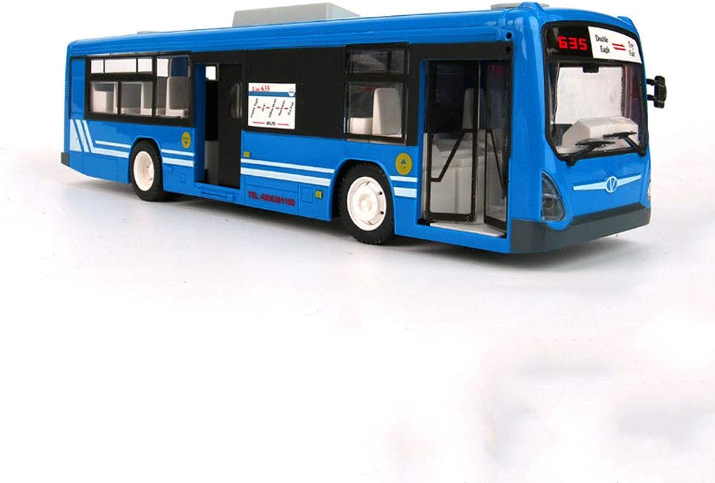 venta caliente en línea Mogicry Simulación de autobús autobús autobús de Control Remoto Autobús Grande Autobús público Autobús Escolar DE 2,4 GHz Luz de Faro eléctrico Que se Puede Abrir Puerta Boy Campus Juguete de Coche Regalo para Niños  el más barato