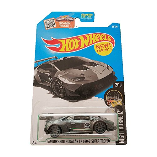 Hot Wheels Lamborghini Huracan LP 620-2 Super Trofeo 2/10 Nightburnerz (82/250)