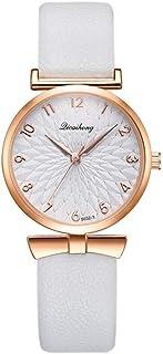 wall clock, Women's Wrist Watches Ladies Series Girls Watch Female for Women Women's Watch pu Strap Quartz Watch,Colour Na...