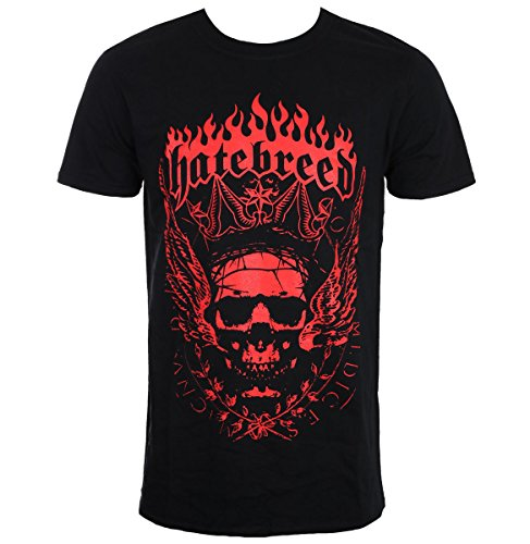 Rocks-off Herren T-Shirt Metal Hatebreed - Crown HATETS01MB XXL